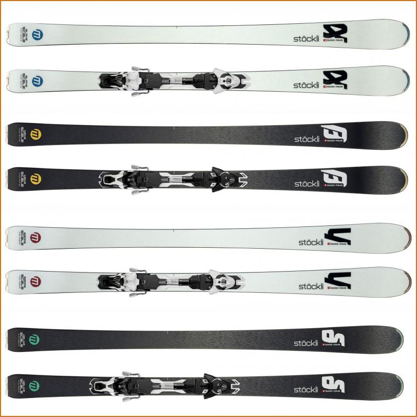SCALE: Alpha, Beta, Gamma, Delta Allmountain-Ski ohne u. mit Bindung 2015/16 von Stckli
