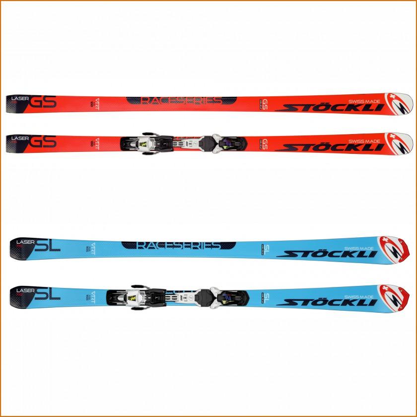 LASER GS FIS u. SL FIS Alpin-Ski ohne u. mit Bindung 2015/16 von Stöckli