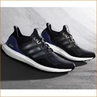 Ultra Boost Laufschuh Herren schwarz 2015 von adidas