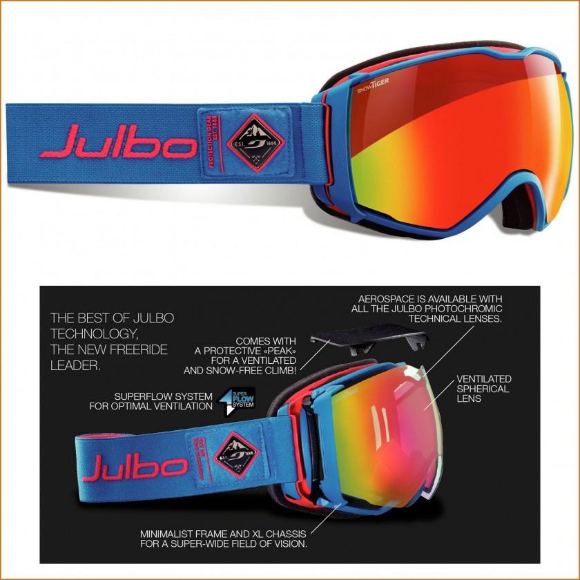 Aerospace Skitouring-Goggle mit Superflow Belüftungssystem 2015/16 von Julbo