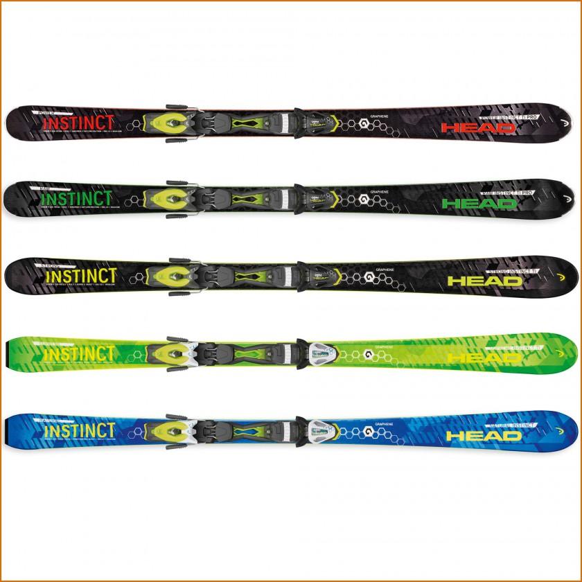 INSTINCT Ski-Kollektion mit GRAPHENE und ERA 3.0 Technologie 2015/16 von HEAD