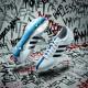adiPure 11Pro Fußballschuh seite, sohle weiß/blau Version 2015 von adidas