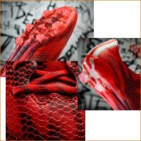 adizero f50 Fuballschuh mit neuer Stollenkonfiguration u. 3D-Dribbletex-Schicht 2015 von adidas