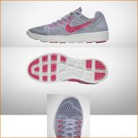 LunarTempo Laufschuh Damen seite, sohle, vorne grau 2015 von Nike