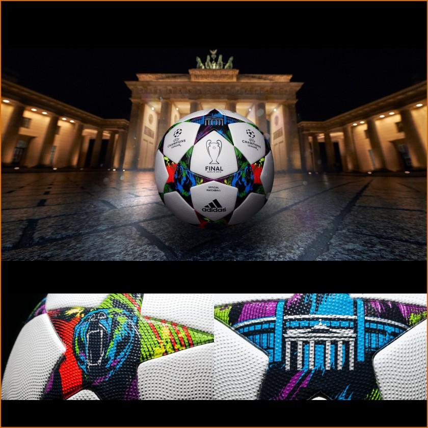 adidas Finale Berlin: Offizieller Spielball des UEFA Champions League Finals 2015