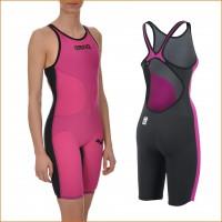 Powerskin Carbon Air Suit Damen vorne, hinten 2015 von arena