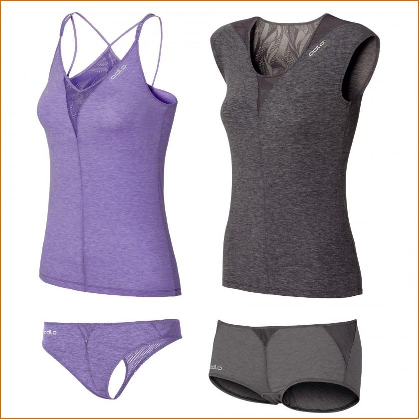 Revolution Technical Silk X-Light Trägershirt, Kurzarmshirt, String u. Panty Damen 2015 von ODLO