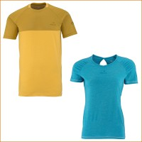 Commit Mix Tee M Herren u. Enjoy Tee W Damen 2015 von EIDER