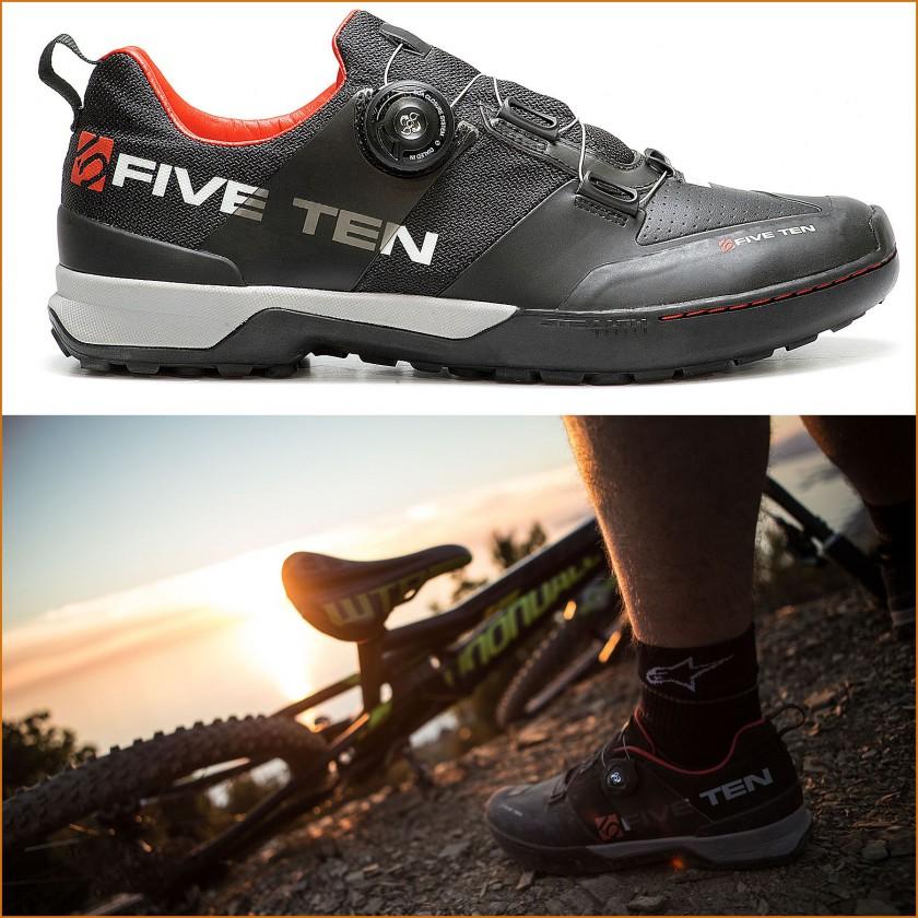 Kestrel MTB-Fahrradschuh mit Boa Drehverschluss IP-1 2015 von Five Ten