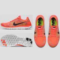 Nike Free 4.0 Flyknit Laufschuh Damen seite, sohle, oben 2015
