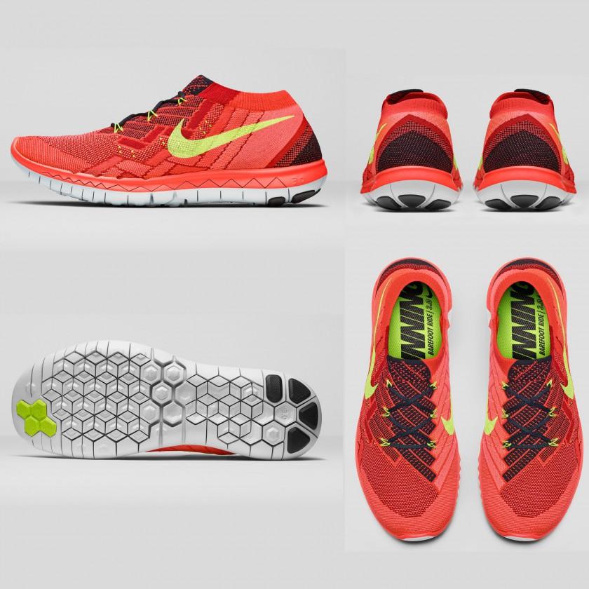 Drei neue Nike Free Laufschuhmodelle bieten im Sommer 2015