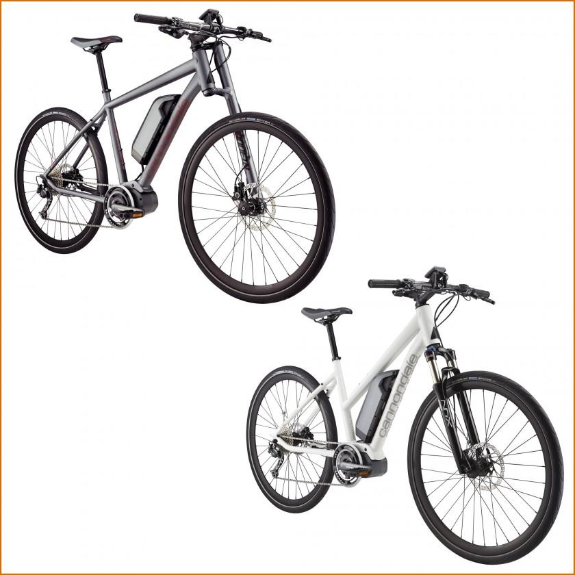 Kinneto E-Bike Herren Lefty u. Damen mit Shimano STEPS-Antriebseinheit 2015 von Cannondale