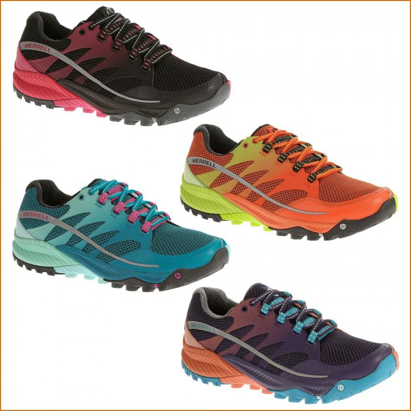 Allout Charge Trailrunningschuh Herren black, orange u. Damen blue, purple 2015 von Merrell