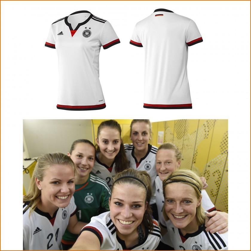Trikot Frauenfußball-Nationalmannschaft für die WM 2015 von adidas