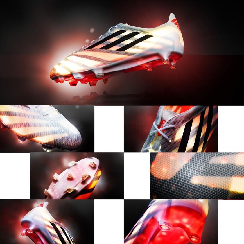 adizero 99g Fußballschuh - detaillierte Ansichten 2015 von adidas
