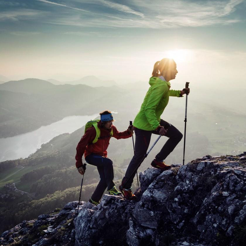 Salewa Alpine Speed Sommer-Kollektion 2015 fr Damen und Herren - Speed-Hiking Action 2015