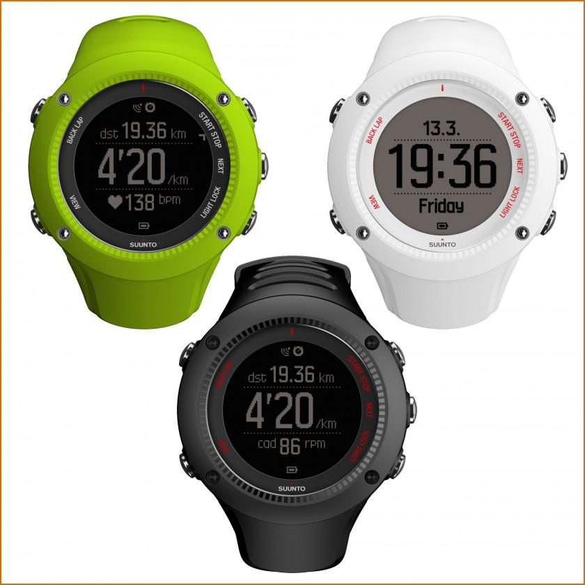 Ambit3 Run GPS-Laufuhr lime, wei, schwarz 2015 von SUUNTO