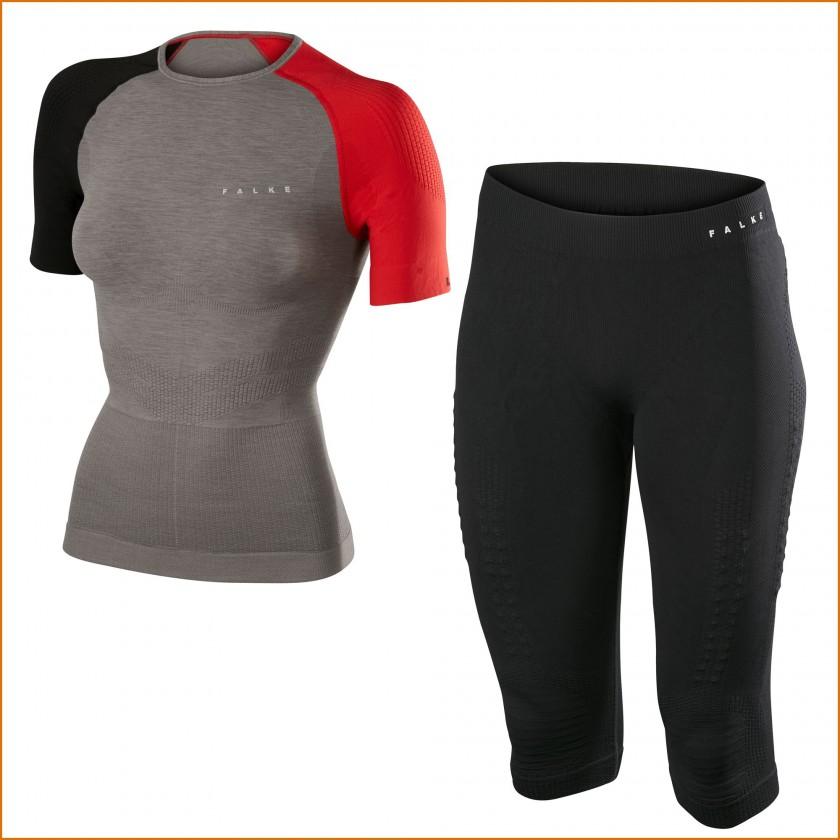 Impulse Running Shirt u. Tights Damen 2015 von FALKE