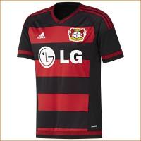 Bayer 04 Leverkusen: Heim-Trikot fr die Fuball-Bundesliga-Saison 2015/16 von adidas