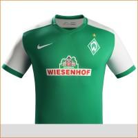 SV Werder Bremen: Heim-Trikot fr die Fuball-Bundesliga-Saison 2015/16 von Nike