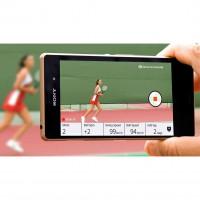 Smart Tennis Sensor App 2015 von Sony - Videos knnen mit dem gewonnen Daten verknpft werden