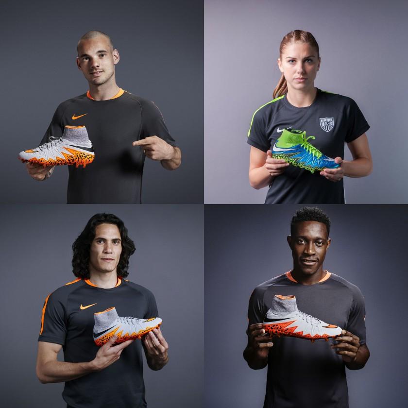 reputable site 492a6 4dc75 Bild: Wesley Sneijder, Alex Morgan, Edinson Cavani u. Danny ...