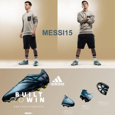 Lionel Messi im MESSI 15.1 Fuballschuh 2015 von adidas