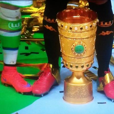 DFB-Pokal 2015: VfL Wolfsburg schlgt Borussia Dortmund 3:1
