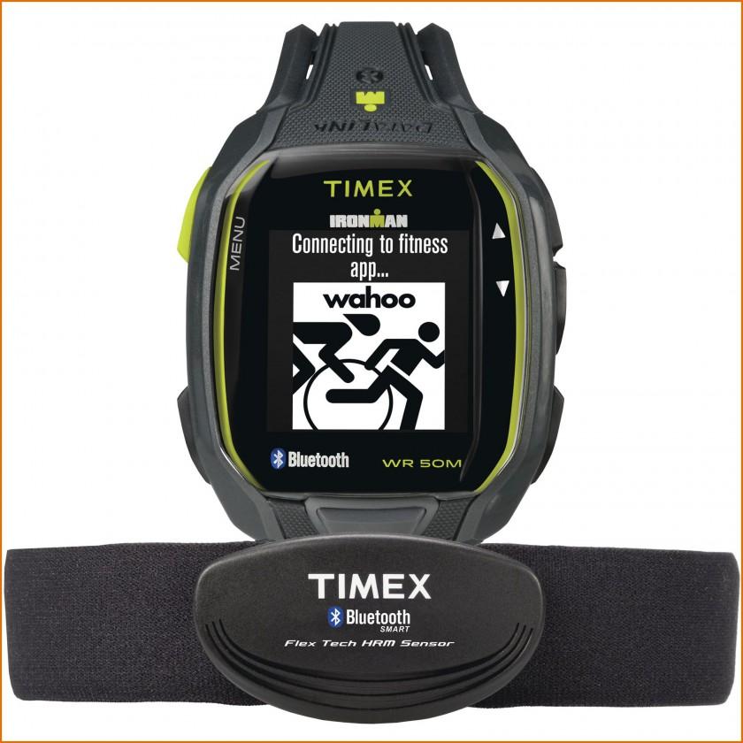 Timex Ironman Run x50+ und Bluetooth Brustgurt 2015