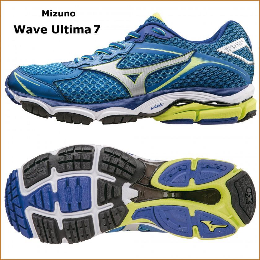 Wave Ultima 7 Laufschuh Herren seite, sohle 2015 von Mizuno