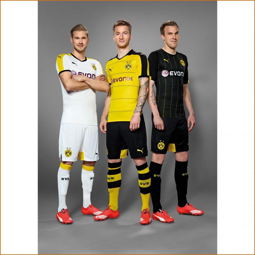 Puma Und Borussia Dortmund Stellen Das Heimtrikot Fur Die