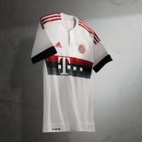 FC Bayern Mnchen Auswrtstrikot der Bundesliga-Saison 2015/16 von adidas - vorne