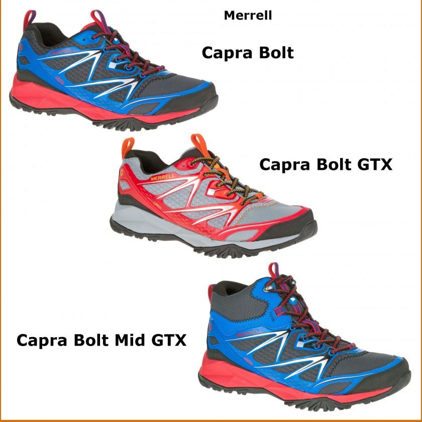 Capra Bolt, Capra Bolt GORE-TEX u. Capra Bolt Mid GORE-TEX Outdoorschuhe Herren 2016 von Merrell