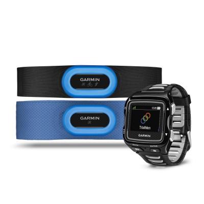 HRM-Tri, HRM-Swim Brustgurt u. Forerunner 920XT schwarz/silber 2015 von Garmin