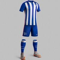 Hertha BSC Heim-Trikot, Shorts u. Socken Bundesliga-Saison 2015/16 von Nike