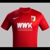 FC Augsburg Auswrts-Trikot Bundesliga-Saison 2015/16 von Nike