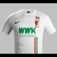FC Augsburg Heim-Trikot Bundesliga-Saison 2015/16 von Nike