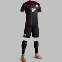 Eintracht Frankfurt Heim-Trikot, Shorts u. Socken Bundesliga-Saison 2015/16 von Nike