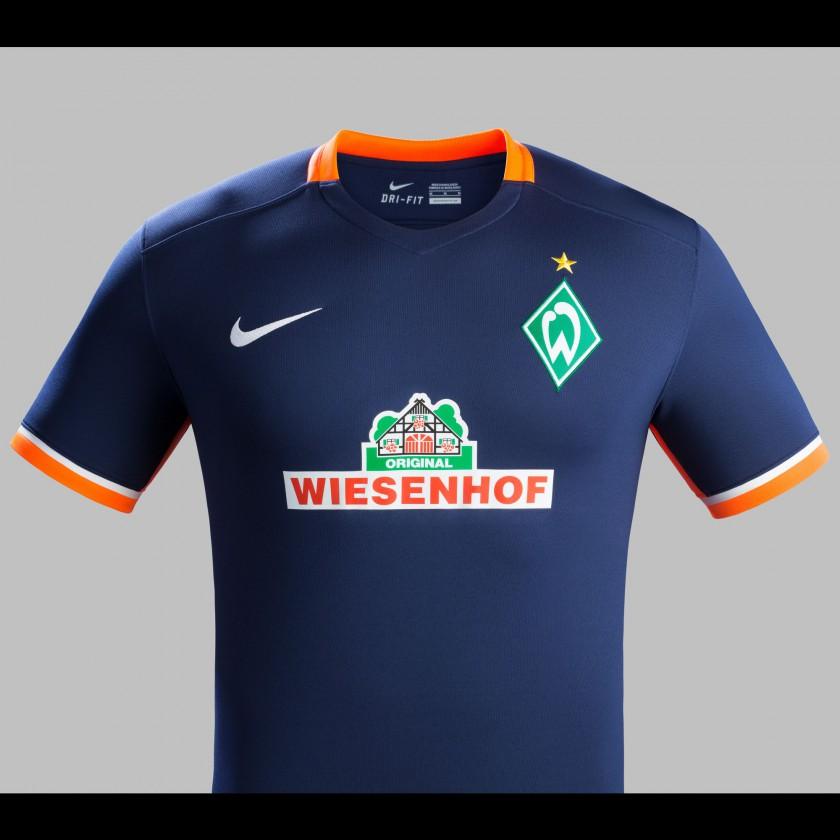 Bild Sv Werder Bremen Auswärts Trikot Bundesliga Saison 201516 Von