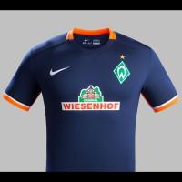SV Werder Bremen Auswrts-Trikot Bundesliga-Saison 2015/16 von Nike