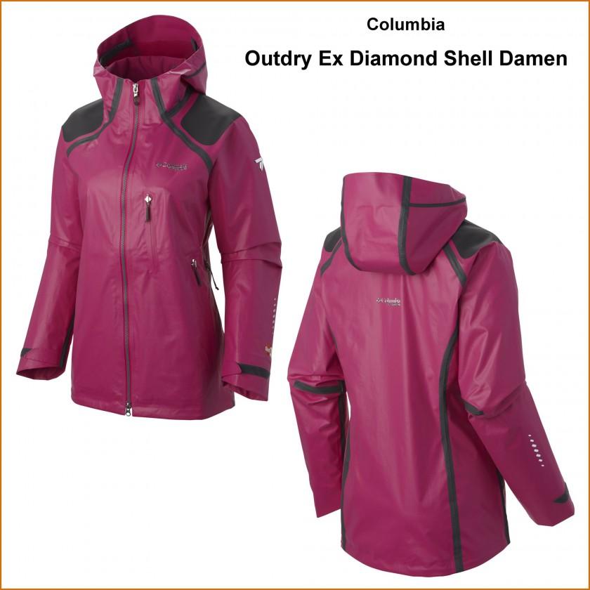 Columbia Titanium Serie 2016: Outdry Ex Diamond Gold Jacket Damen