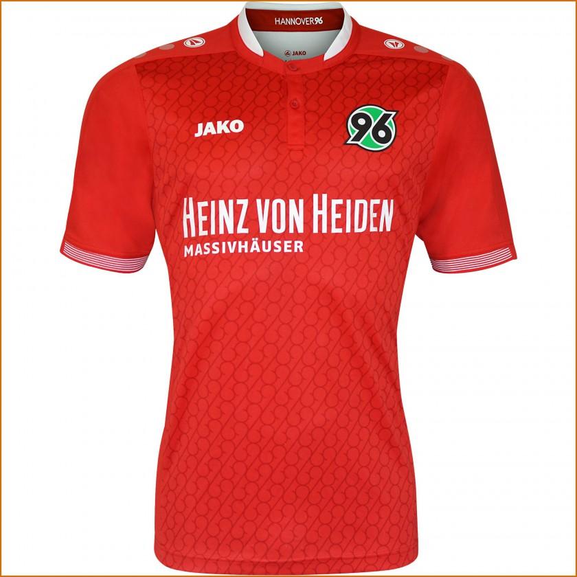Hannover 96 Heim-Trikot Bundesliga-Saison 2015/16 von JAKO