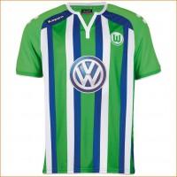 VfL Wolfsburg Auswrts-Trikot Bundesliga-Saison 2015/16 von KAPPA