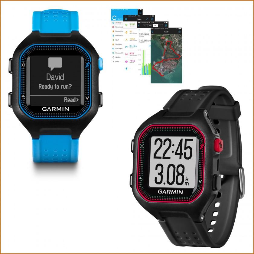Forerunner 25 GPS-Laufuhr: David, ready to run 2015 von Garmin