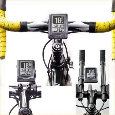 ELEMNT GPS-Bikecomputer am Lenker befestigt 2016 von Wahoo Fitness