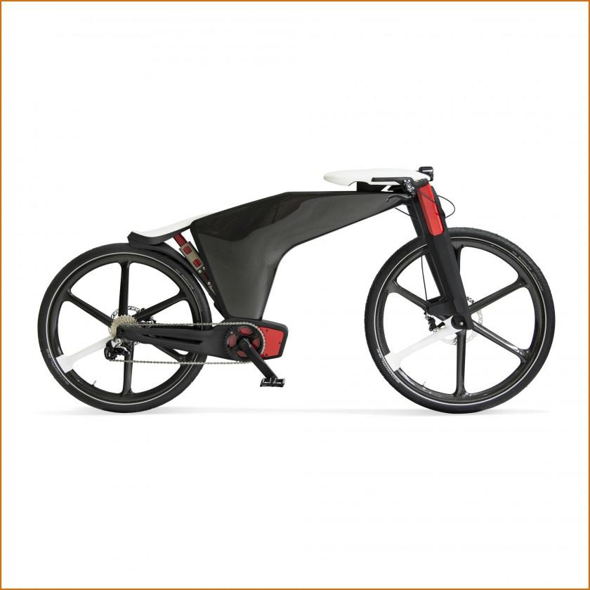 Visionsbike - Sattel u. Lenker platzsparend im e-Bike verstaut 2015 von Brose