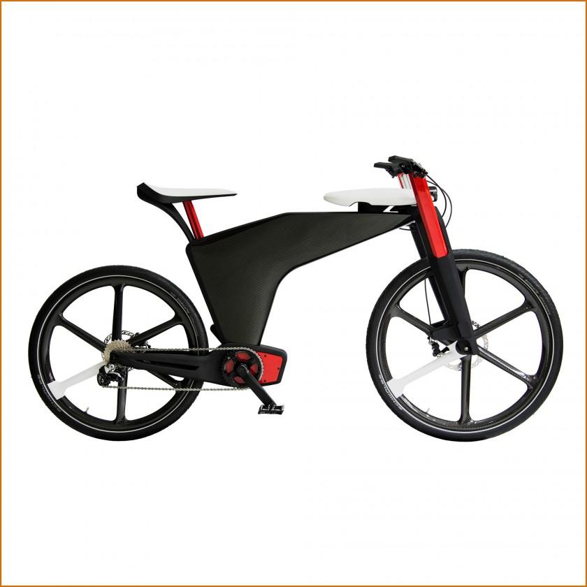 Visionsbike - e-Bike mit intelligenten Antriebs- und Verstellsystemen 2015 von Brose
