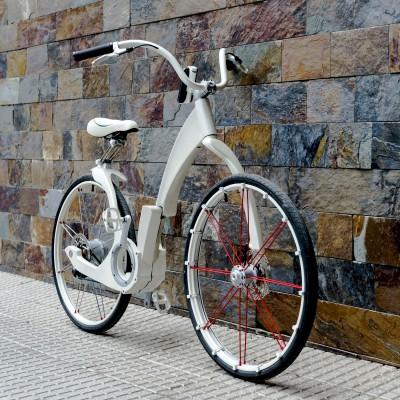 Gi FlyBike ein urbanes 26-Zoll-E-Bike 2015