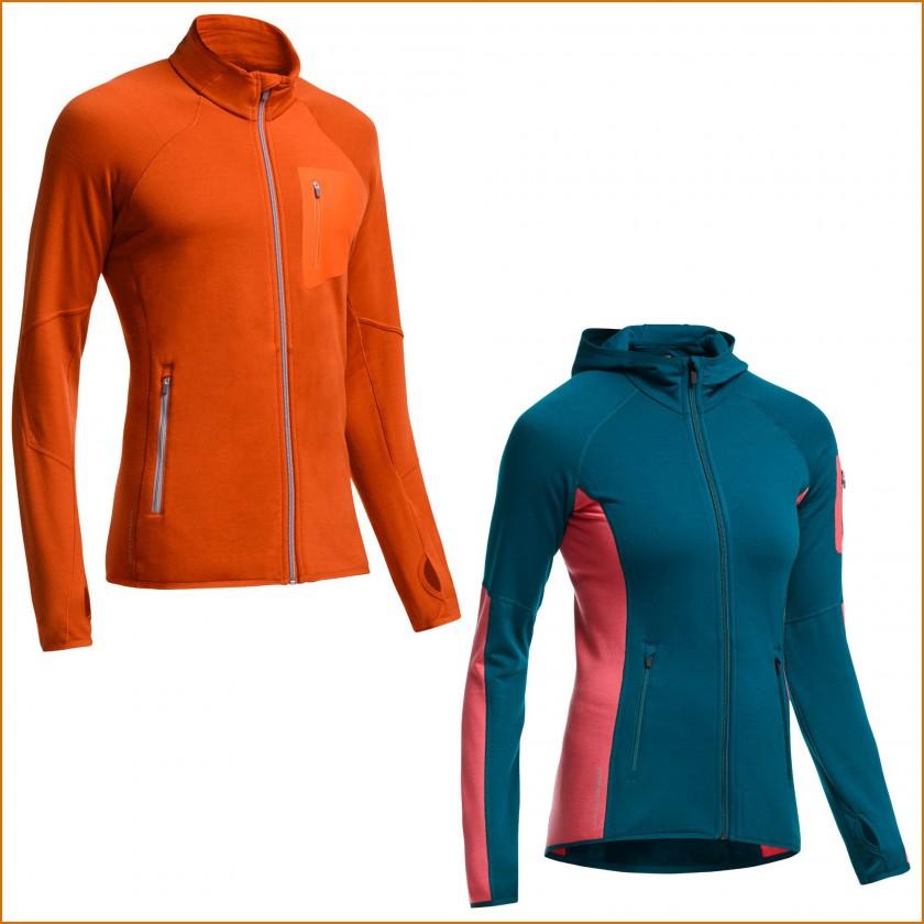 ATOM LS ZIP Jacket Herren und ATOM LS ZIP HOOD Jacket Damen 2015/16 von Icebreaker