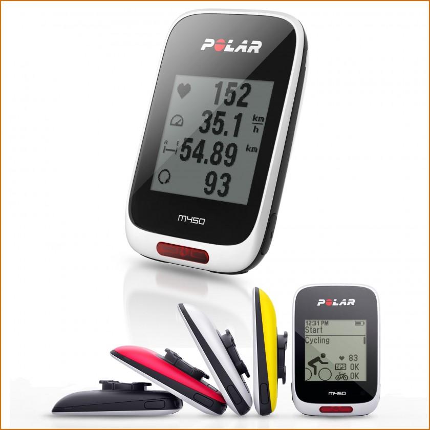 M450 GPS-Fahrradcomputer 2015 von Polar